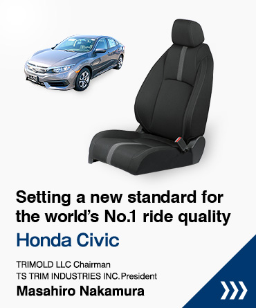Setting a new standard for the world's No. 1 ride quality Honda Civic