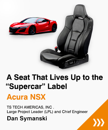 "A Seat That Lives Up to the""Supercar"" Label Acura NSX"