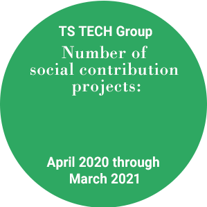 TS TECH Group Number of social contribution projects